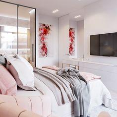 Спальня, Pink & White - фото 4