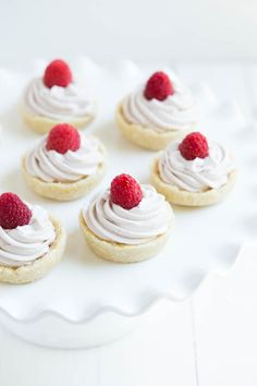 No Bake Raspberry Lemon Cookie Cups are gluten free, dairy free, and vegan! Made with coconut, lemon, raspberries and a few other simple ingredients, these cookie cups have a subtle hint of pink color and are perfect for special events, birthdays and more!