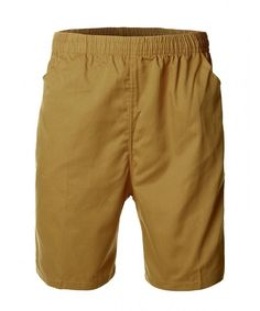 a1c150d650 Men's Casual Basic Design Cotton Shorts Pants - Brown - C311NIKQ4N3