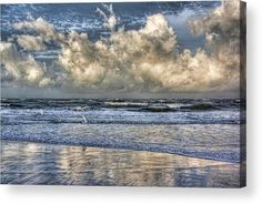 The Gulf Of Mexico At Longboat Key Acrylic Print by HH Photography of Florida. All acrylic prints are professionally printed, packaged, and shipped within 3 - 4 business days and delivered ready-to-hang on your wall. Choose from multiple sizes and mounting options.