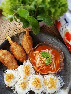 Healthy Thai Recipes, Asian Recipes, Healthy Food, Brunch Sydney, Thai Appetizer, Finger Food Catering, Authentic Thai Food, Laos Food, Thai Dishes