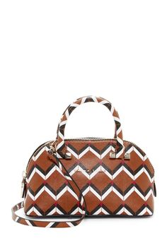 Trina Turk Las Palmas Petite Dome Mocha Satchel. Save 37% on the Trina Turk Las Palmas Petite Dome Mocha Satchel! This satchel is a top 10 member favorite on Tradesy. See how much you can save