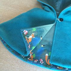 DIY-Cape: Kinderkleider einfach selber nähen mit den Nähsets von www.musterkitz.com Simple, Sewing Patterns