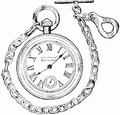 Vintage Clip Art - French Clock Parts | Clip art, Graphics and ...