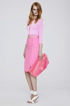 versace 2013 collection...a little too much pink I think.