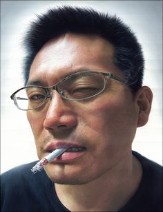 Super realistic acrylic  paiting by Misulbu