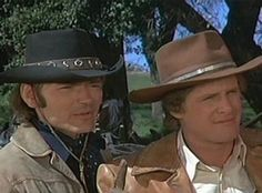 Hannibal Heyes and Kid Curry-- Alias Smith and Jones