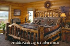 A PrecisionCraft Milled Log Home | Located in Utah by PrecisionCraft Log Homes & Timber Frame, via Flickr