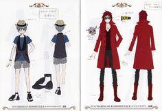 "Ciel Phantomhive + Grell Sutcliff - OVA ""Modern Clothes"" Making of Kuroshituji"