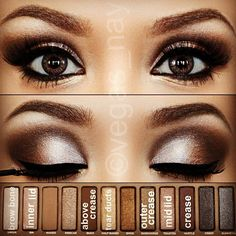 naked palette eye makeup