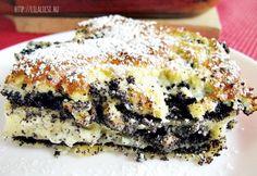 Mákos lasagne Smoothie Fruit, Lasagne Recipes, Good Food, Yummy Food, Hungarian Recipes, Hungarian Food, Sweet And Salty, Vegan Desserts, Cookie Recipes