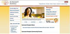 Suncoast Hospice website - a C# ASP.NET web application using SQL server databases.