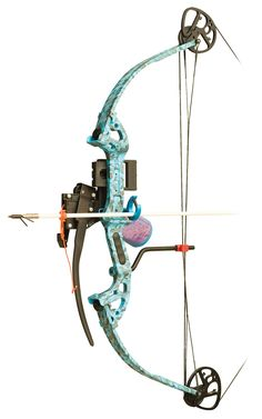 PSE Discovery Bowfishing Bow Pkg RH 40lb Reaper H2O