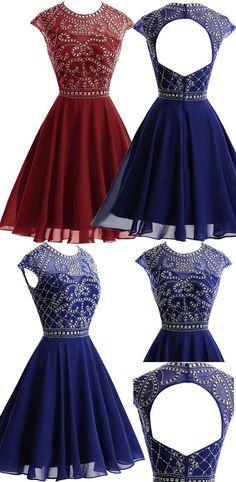 Homecoming Dresses Short Prom Dresses,Homecoming Dresses,Sparkly Homecoming…