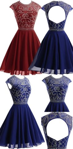 Homecoming Dresses Short Prom Dresses,Homecoming Dresses,Sparkly Homecoming…