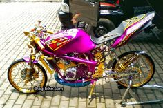 Satria Fu, Drag Bike, Motorcycle Engine, Street Racing, Kawasaki Ninja, Bubble Tea, Biking, Bicycling, Cycling