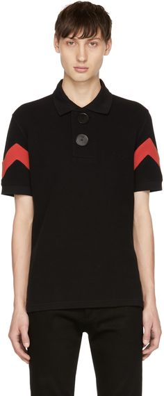 https://www.ssense.com/en-cn/men/product/givenchy/black-and-red-oversized-polo/2208447