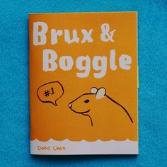 Brux & Boggle  a rat zine  issue 1 by BlueAlgae on Etsy, $6.50