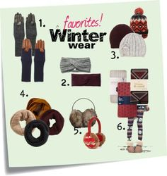 Winter accessory faves