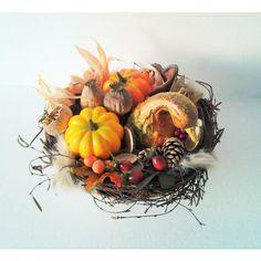 jesenná úroda 30 x 18 cm Wreaths, Fall, Home Decor, Autumn, Decoration Home, Door Wreaths, Fall Season, Room Decor, Deco Mesh Wreaths