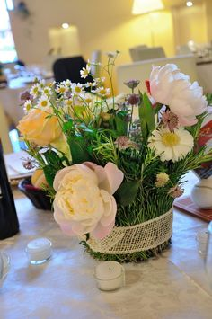 Lovely Rural Centerpiece