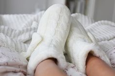 slippers in the morning