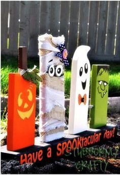 Originele grafstenen voor Halloween