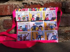 Archie Comic Duct Tape Bag by TheDuctTapePrincess on Etsy