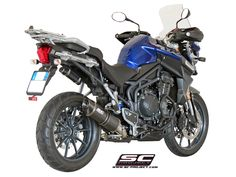 Low Mount Oval for the Triumph Tiger Explorer. Triumph Tiger, Motogp, Exhausted, Explore, Projects, Log Projects, Exploring