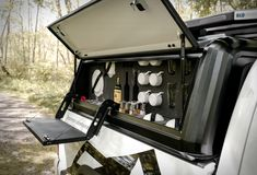RLD Design was born in South Africa from the need for the most rugged, most durable, and most functional truck canopy for demanding off-road utility and adventure use. Besides selling an incredibly strong canopy with an unmatched load capacity, they Ute Camping, Truck Bed Camping, Truck Canopy, Ute Canopy, Diy Camper Trailer, Pickup Camper, Truck Bed Drawers, Van Storage, Kitchen Kit