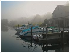 Morning mist. by John Levanen, via Flickr