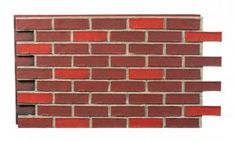 Shop our extensive selection of easy to install, durable brick wall panels. Brick Wall Paneling, Faux Brick Panels, Grey Grout, Manufactured Stone, Ornamental Grasses, Dark Red, Diy Home Decor, Grimm, House