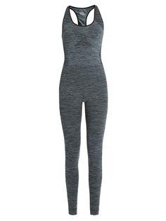 Racer Back Compression Jumpsuit, New Denim | Kläder och accessoarer | Pepper & Mayne