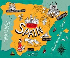 Spain Map by Daria I./Shutterstock.com