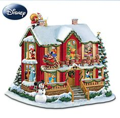 Disney 'Twas the Night Before Christmas Lighted Sculpture