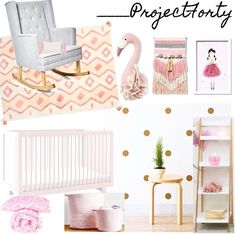 """""""I've been lucky enough to work on a special little girls bedroom! How pretty is this This was a lot of fun to create as having…"""" Little Girl Bedrooms, Girls Bedroom, Little Girls, Bedroom Decor, Bedroom Ideas, Mid Century Lighting, Design Your Own, Interior Design, Pretty"""