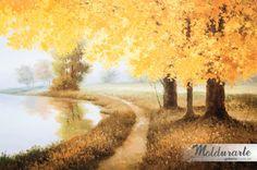 """Meadown Lake 2"" (Gravura). Formato: 91 x 61 cm. Moldurarte Galeria."