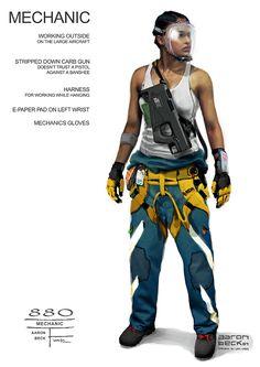 Aaron Beck´s Avatar concept art