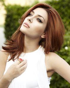 Elena Satine my latest hair crush. Love her red!
