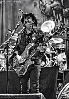 Lemmy doing what he does best...rockin!