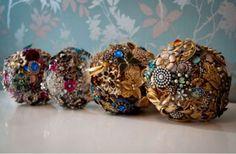 Buquê de noiva sem Flores: inspire-se em joias e pedras Image: 3