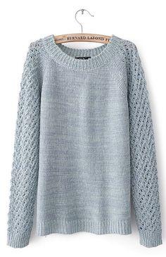Beautiful hollow sweater
