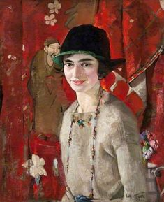 William Oliphant Hutchison (1889-1970) - The Artist's Wife