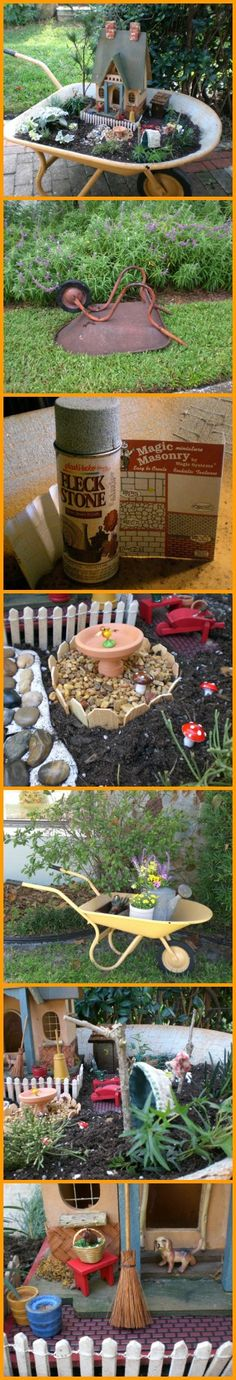 Who ever thought of making this mobile fairy garden is a genius! http://theownerbuildernetwork.co/o49u