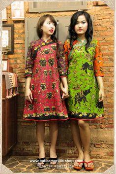 Contoh Model Baju Batik Wanita Terkini. Echa Mhayhank · batik · batik  amarillis s joyluck series www.batikamarillis-shop.com 05277cadf2