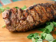 Greek-Style Pork Tenderloin