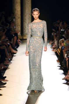 ELIE SAAB Spring  2013; I love almost everything this designer does but this gown is Simply Stunning!