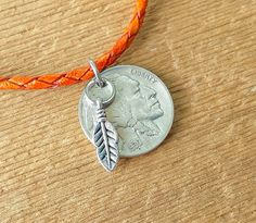 Buffalo Bison Indian Native Nickel FULL DATE coin by bleustuff1