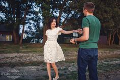Couple egagement dancing lake beach posing ideas couple poses