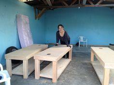 custom massage tables